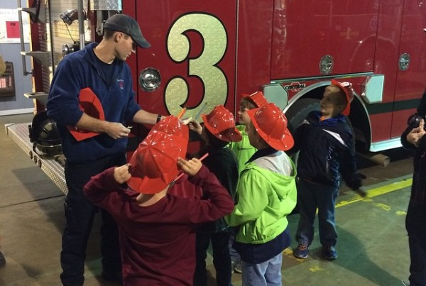 saltillo cub scouts visit the fire department. photo taken by @jmski1 on instagram